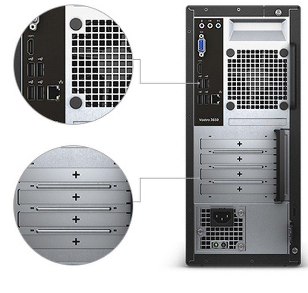(CERTIFIED REFURBISHED) Dell Vostro 3650 Desktop (Core  i5-6400/4GB/1TB/Integrated Graphics)