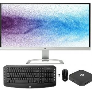 Unbox Hp Desktop Core i7  16gb  Ram 32 LED TV CORDLESS KEYBOARD AND MOUSE  Chromebox G1