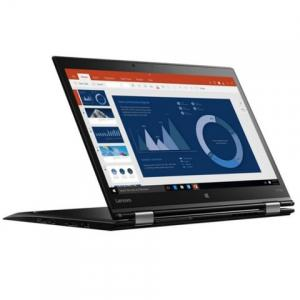 "RefurbLenovo ThinkPad Yoga 370 Touch Laptop with Intel Core i5-7300U, 16GB DDR4 RAM, 256GB SSD - 13.3"" - Black - 20JH002AUS"