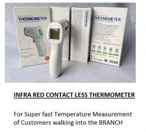 Infra red contactless thermometer (1)