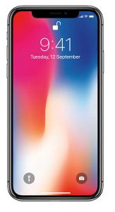Apple iPhone X silver , 3GB RAM, 64GB Storage)