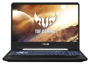 ASUS TUF Gaming FX505DT 15.6-inch FHD 144Hz Laptop, Ryzen 7  8GB RAM/1TB HDD + 256GB NVMe SSD