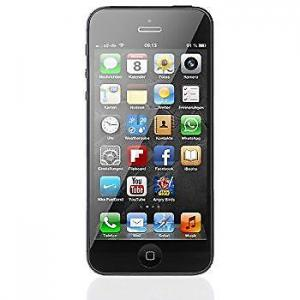Refurb Apple Iphone 5 32gb Silver  black  (1)