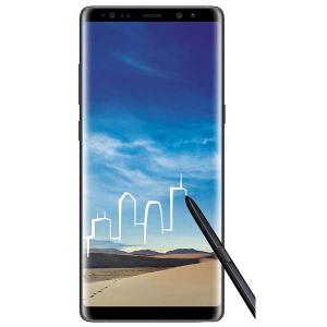 Samsung Galaxy Note 8 (Midnight Black) | 6GB | 64GB | Refurbished | With Complete Box and Accessories