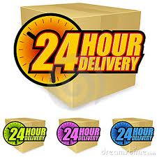 24hrs delivery