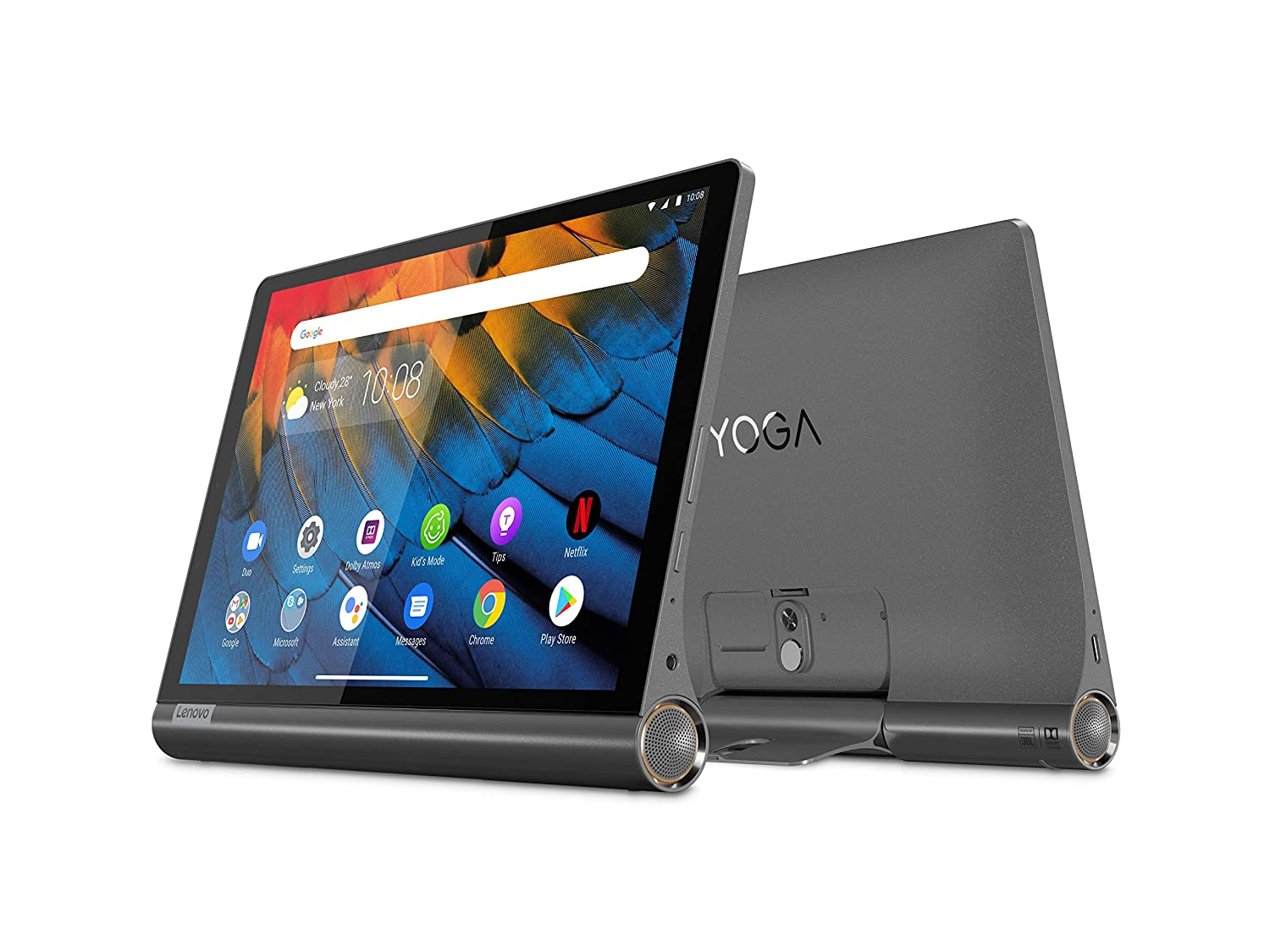 Buy NEW Lenovo Yoga Smart Tablet with The Google Assistant (10.1 inch, 4GB,  64GB, WiFi + 4G LTE), Iron Grey Online on Hilaptop.com
